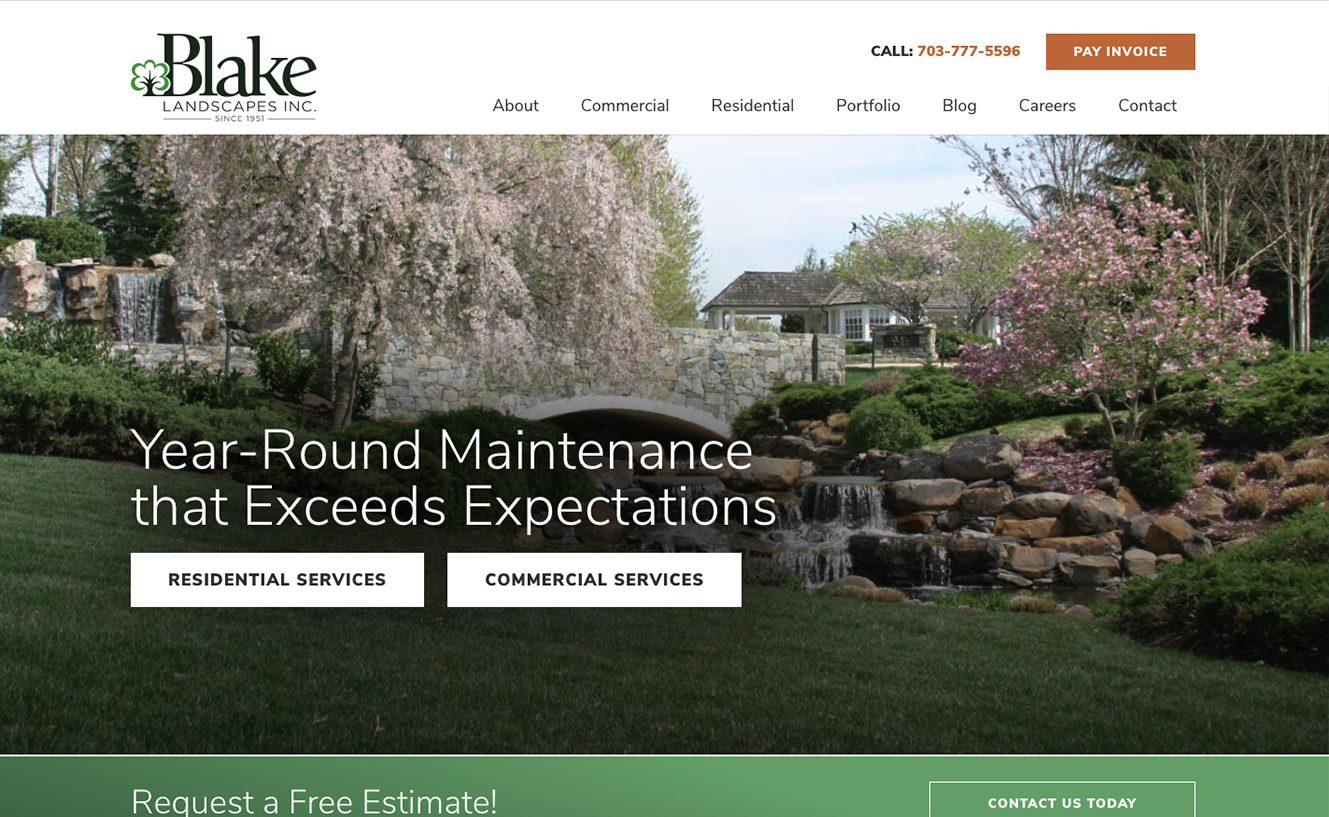 Blake Landscapes in Northern VA