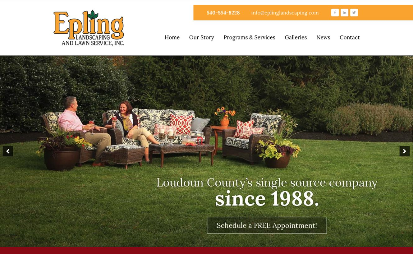 Epling Landscaping and Lawn Service in Northern VA