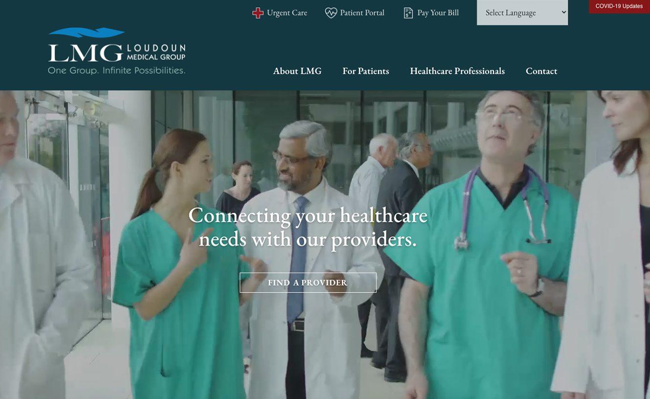 Loudoun Medical Group Headquartered in Leesburg VA