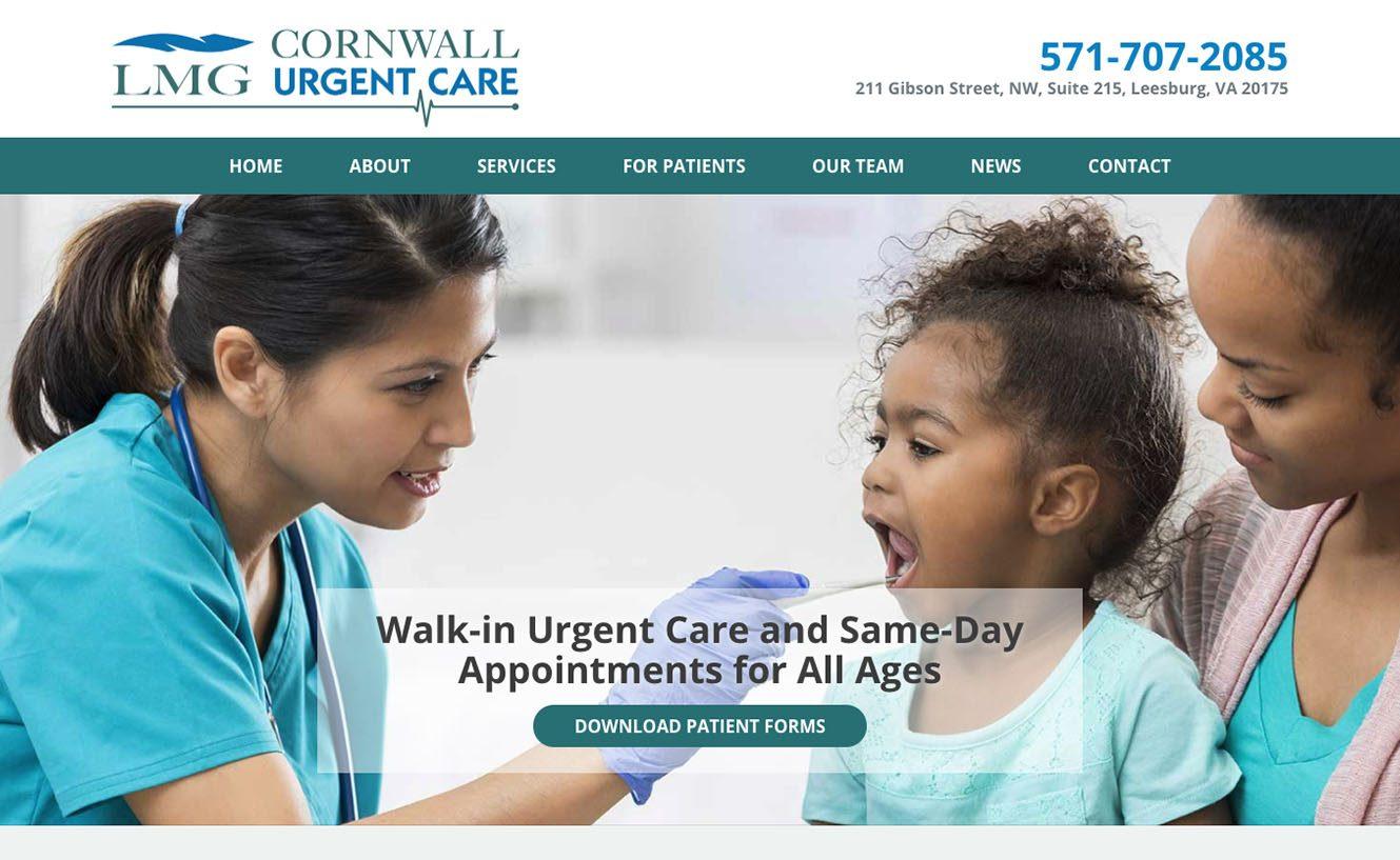Loudoun Medical Group's Cornwall Urgent Care in Leesburg VA