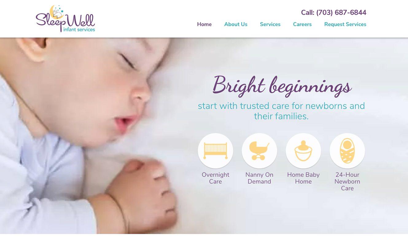 Sleep Well Infant Services in Leesburg VA