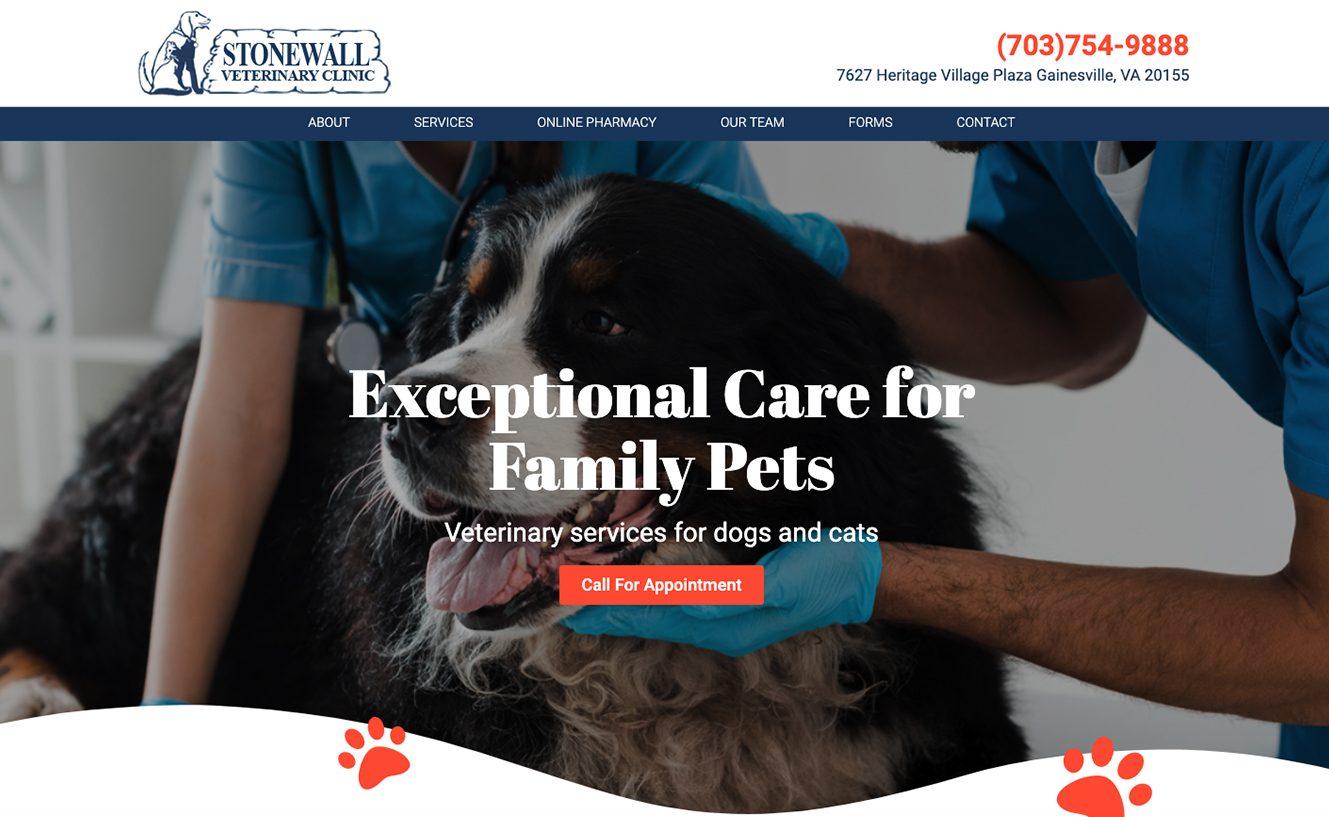 Stonewall Veterinary Clinic in Gainesville VA
